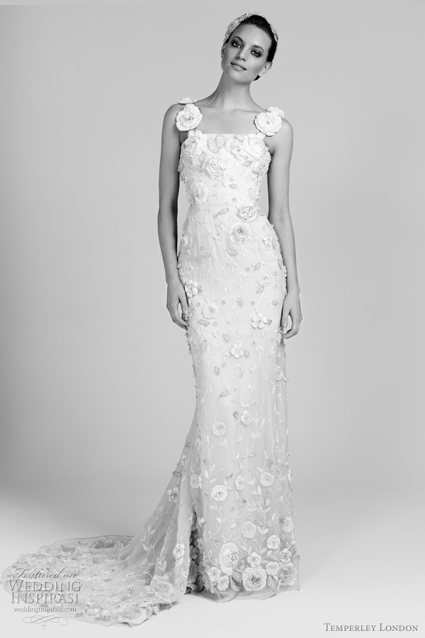 temperley london bridal dahlia wedding dress 20112012 collection
