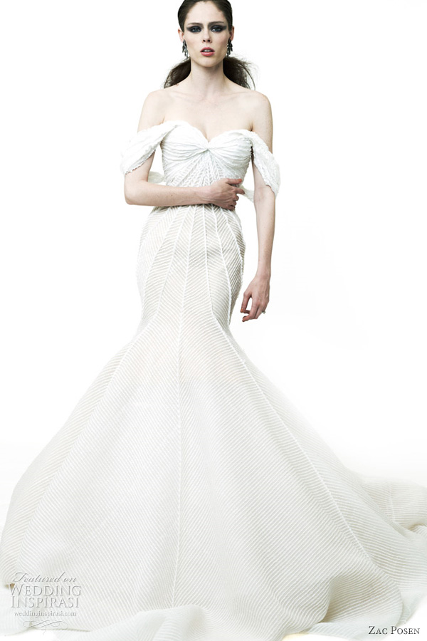 Zac posen dresses resort 2012 wedding inspirasi for Zac posen wedding dress price