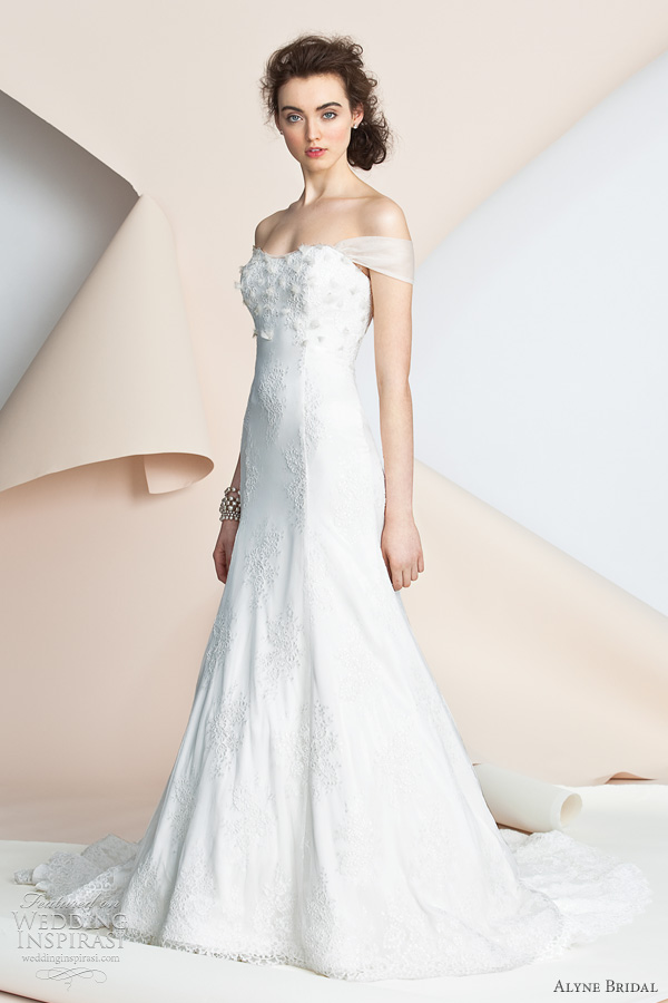 alyne bridal annie 2012 spring wedding dresses