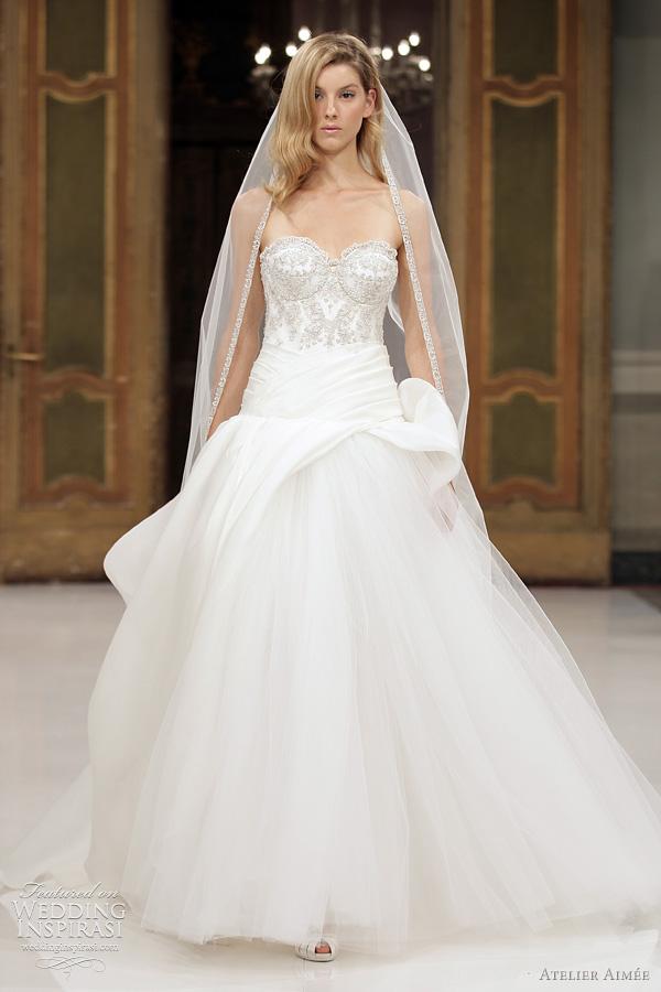 atelier aimee bridal 2012 collection - Dana wedding dress