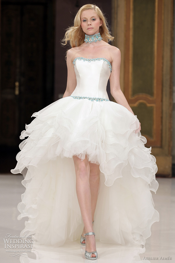 atelier aimee wedding gown - Bice mullet dress