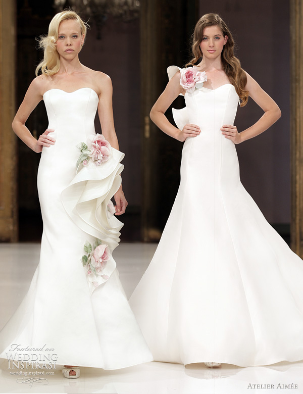 atelier aimee wedding gowns 2012 Marion and Chiara wedding dresses