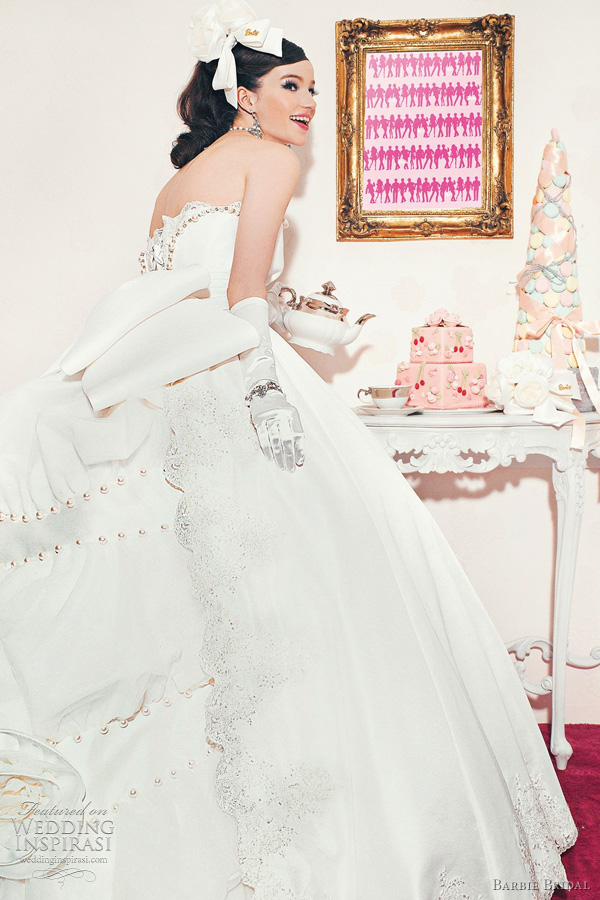 1000 images about barbie bridal collection on pinterest for How to make a barbie wedding dress