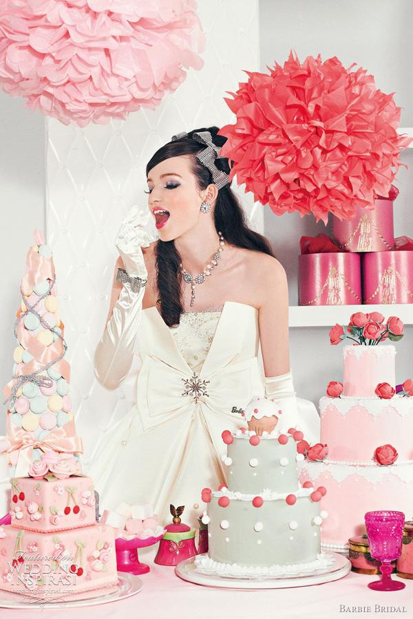 barbie wedding dress 2011