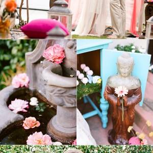bohemian fairytale wedding
