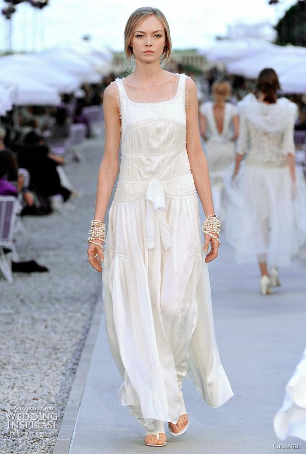 chanel wedding dress resort 2012