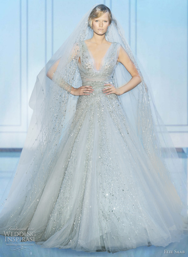 elie saab couture wedding dresses fall 2011