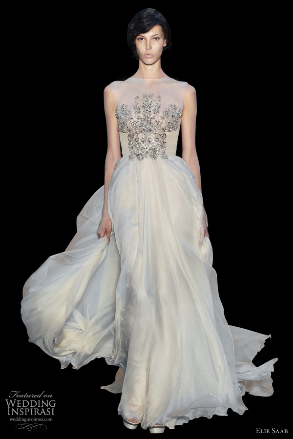 elie saab wedding dresses fall 2011 couture