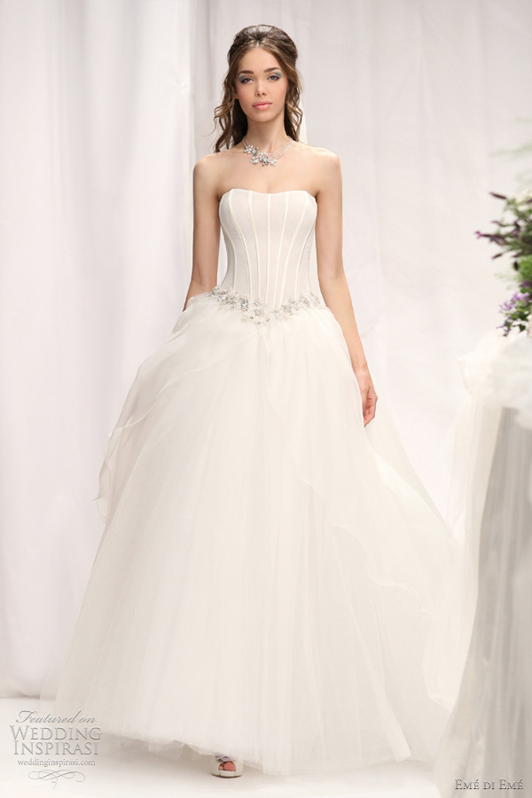 eme di eme 2012 Don wedding dress ball gown