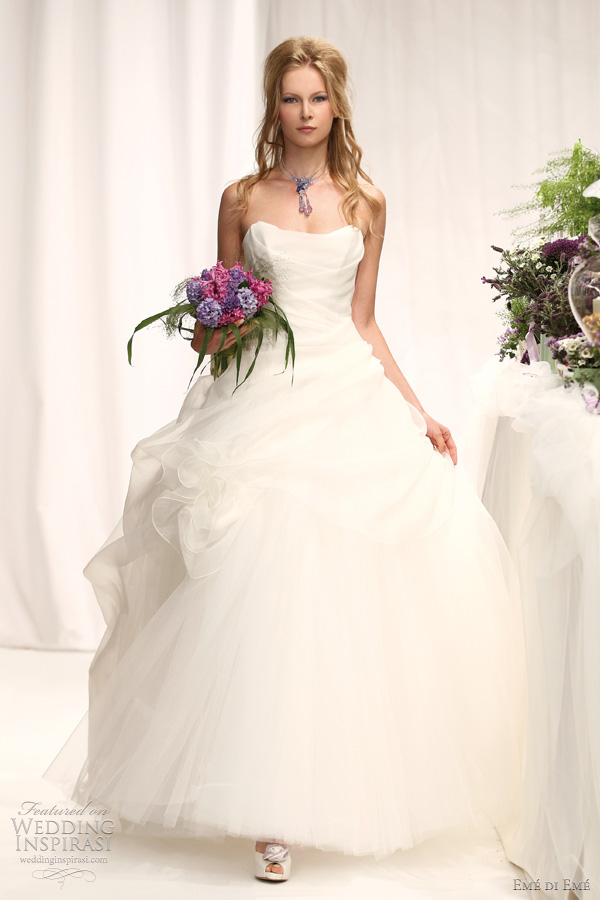 eme di eme collection 2012 atelier aimee - antille ball gown wedding dress