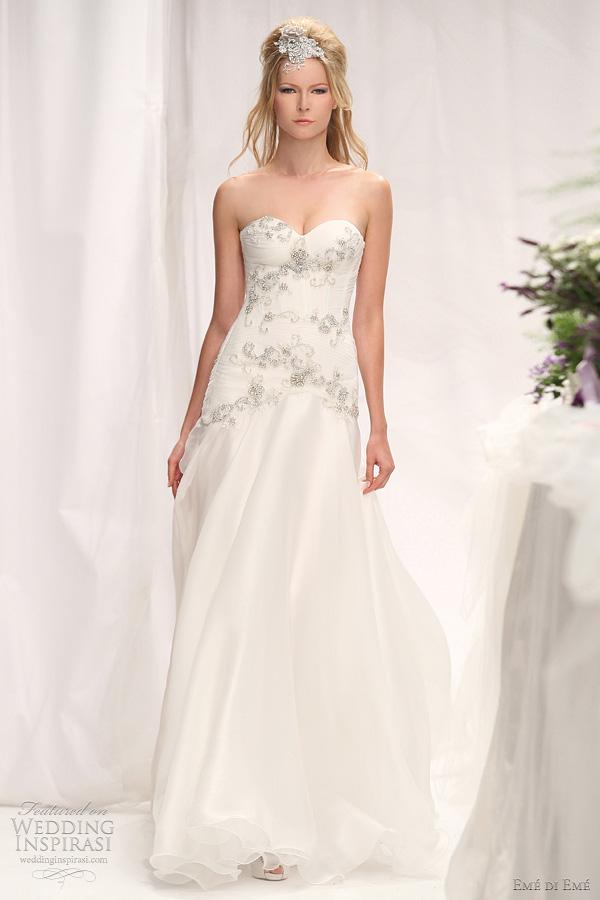 eme di eme wedding dresses 2012 - catania gown