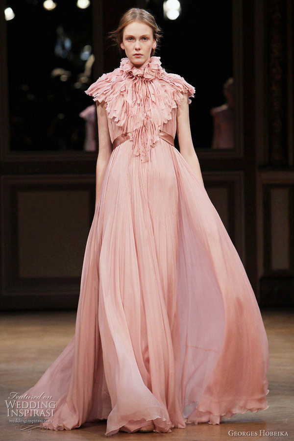 georges hobeika fall 2011 couture dress