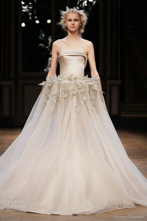 georges hobeika fall 2011 couture wedding dress