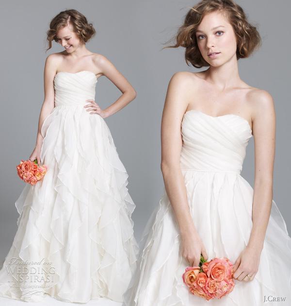 J Crew Wedding Dress.J Crew Wedding Dresses Fall 2011 Preview Wedding Inspirasi