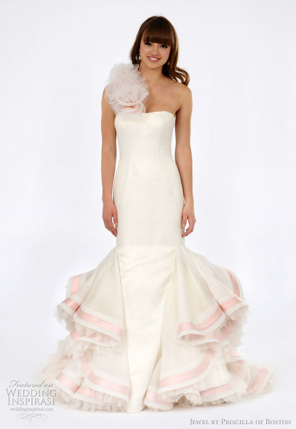 Jewel by priscilla of boston spring 2012 wedding dresses for Wedding dress rental boston