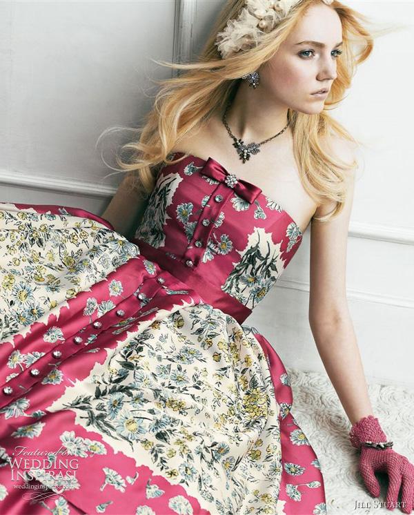 jill stuart bridal gown 2011