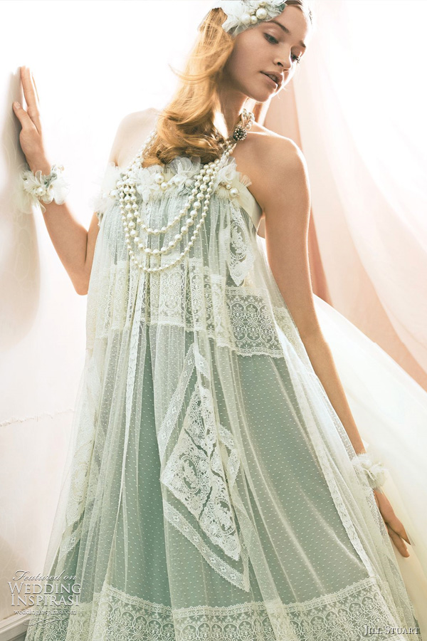Jill Stuart Wedding Dress Collection 2011 Print Amp Color Bridal Gowns