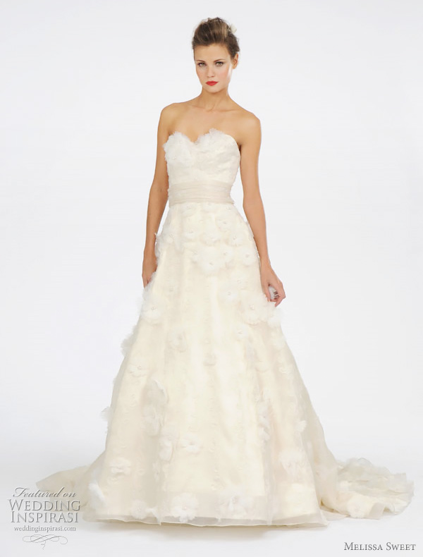melissa sweet spring 2012 wedding dresses - Luciene gown