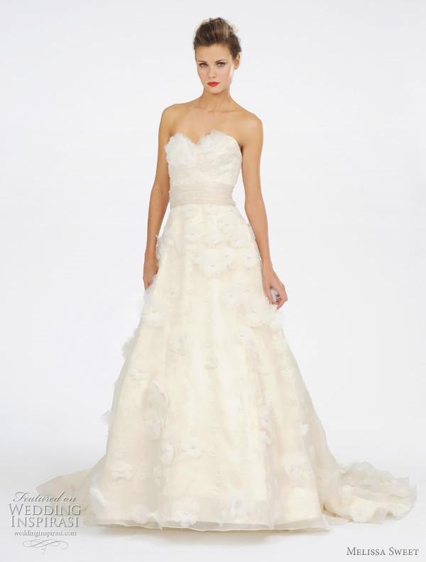 Melissa sweet spring 2012 wedding dresses wedding inspirasi for Melissa sweet short wedding dress