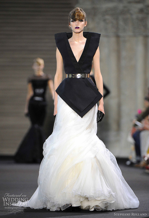 Stephane Rolland Couture Fall 2011