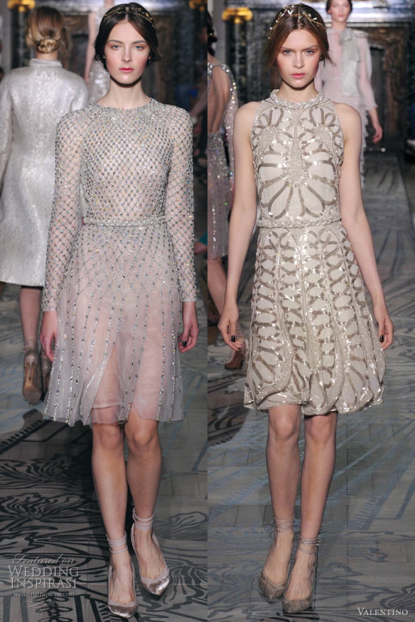 valentino fall 2011 couture dresses