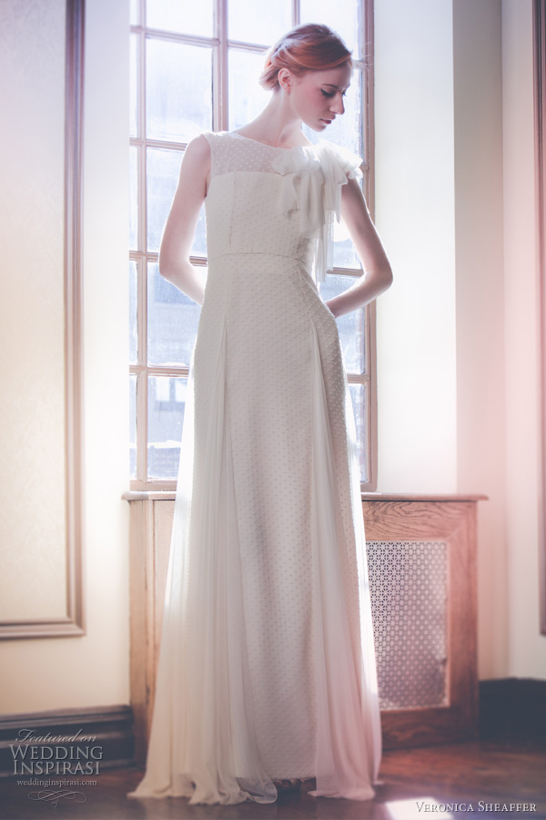 veronica sheaffer fall 2011 wedding dresses - Lierre gown