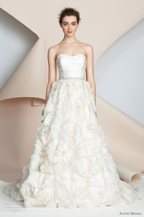 Alyne Bridal Wedding Dresses Spring 2017 Collection
