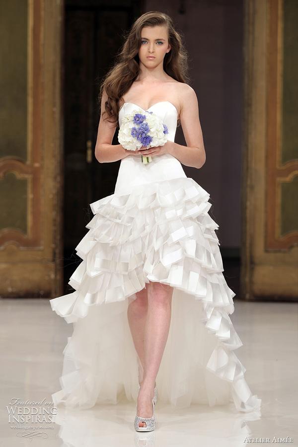 Atelier Aime Wedding Dresses 2012 Prt Porter Collection