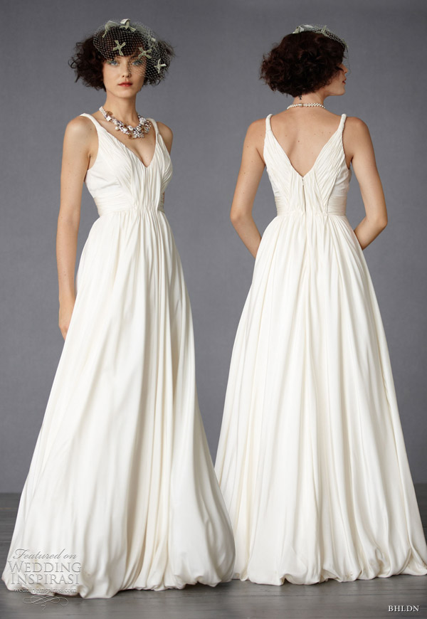 bhldn wedding dresses fall 2011 Modern Mythology Gown grecian inspired