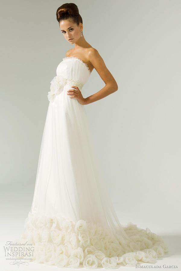 inmaculada garc237a wedding dresses 2012 wedding inspirasi