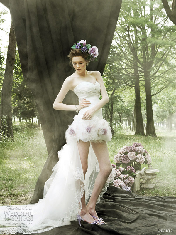 dearte korean wedding dress