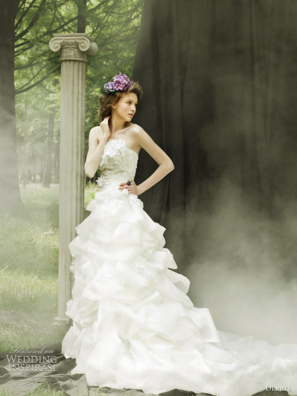 dearte romantic wedding dresses 2011