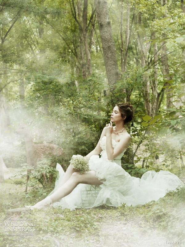 Romantic Wedding Dresses by Dearte