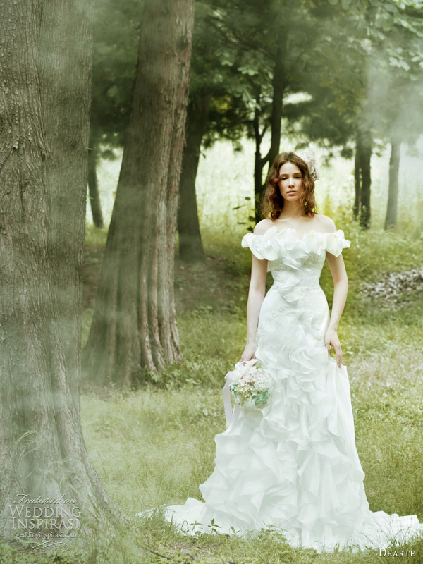 garden wedding dresses dearte