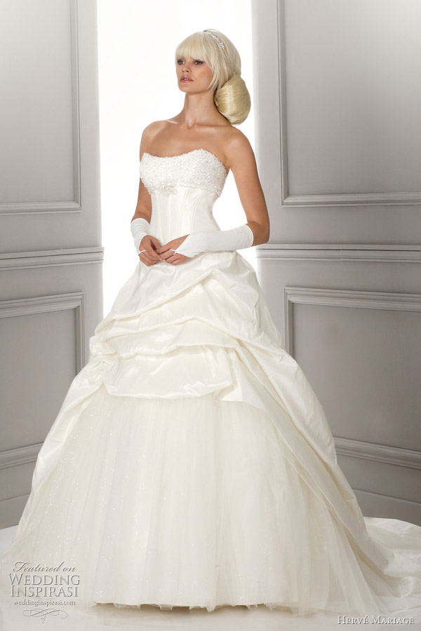 herve mariage ball gown wedding dress - Lord