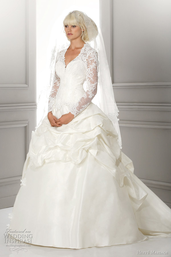 herve mariage lea princess wedding dress