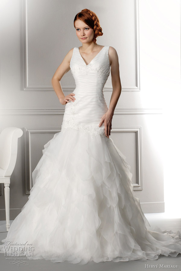 herve mariage wedding dresses lena