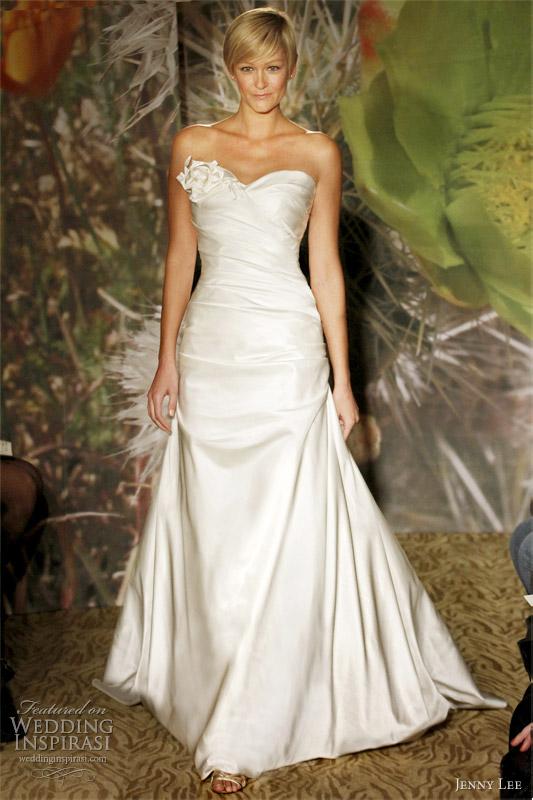 Wedding Dress With Pick Up Skirt 26 Popular jenny lee wedding dress
