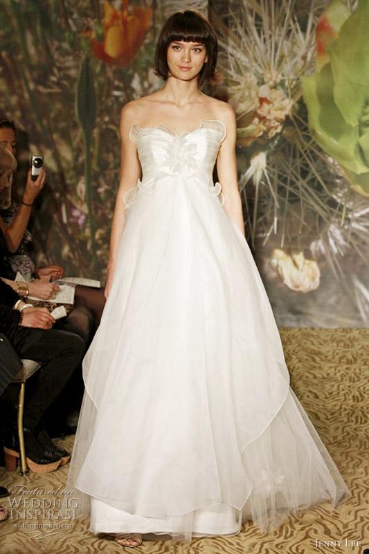 Wedding Dress With Pick Up Skirt 39 Epic jenny lee bridal