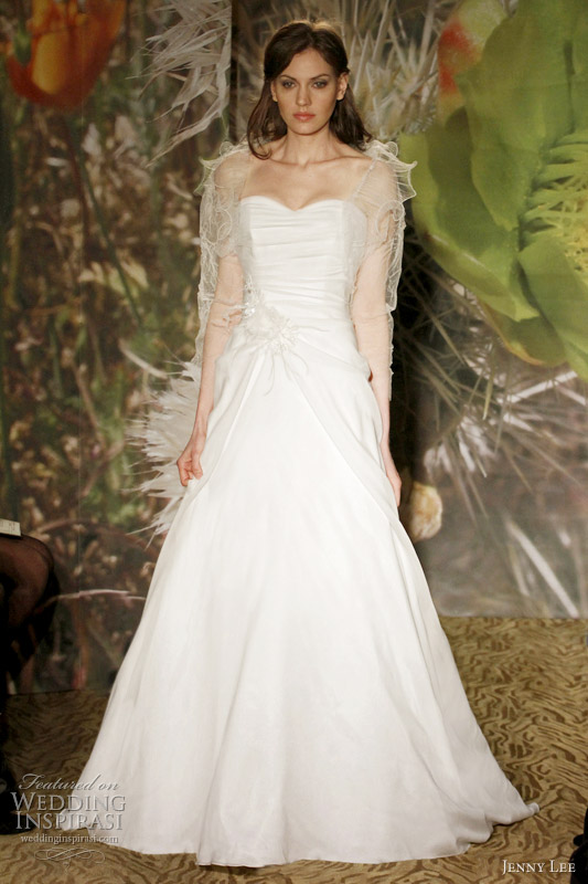 Wedding Dress With Pick Up Skirt 90 Great jenny lee spring wedding