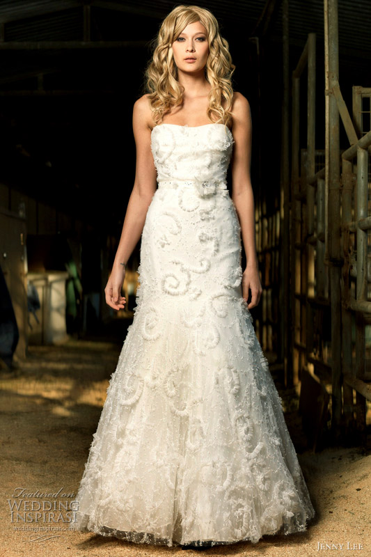jenny lee wedding dresses fall 2011 wedding inspirasi