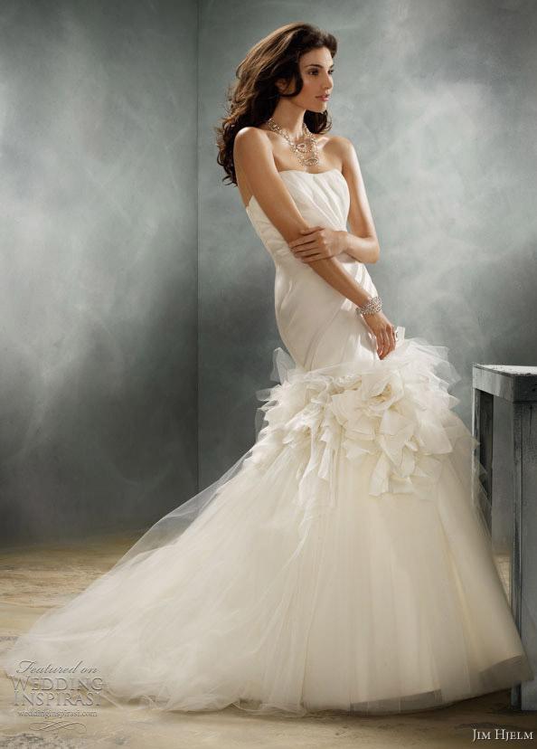 jim hjelm 8159 couture wedding dress