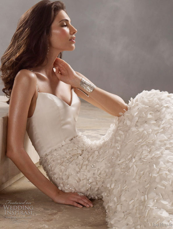 jim hjelm wedding dresses 8166