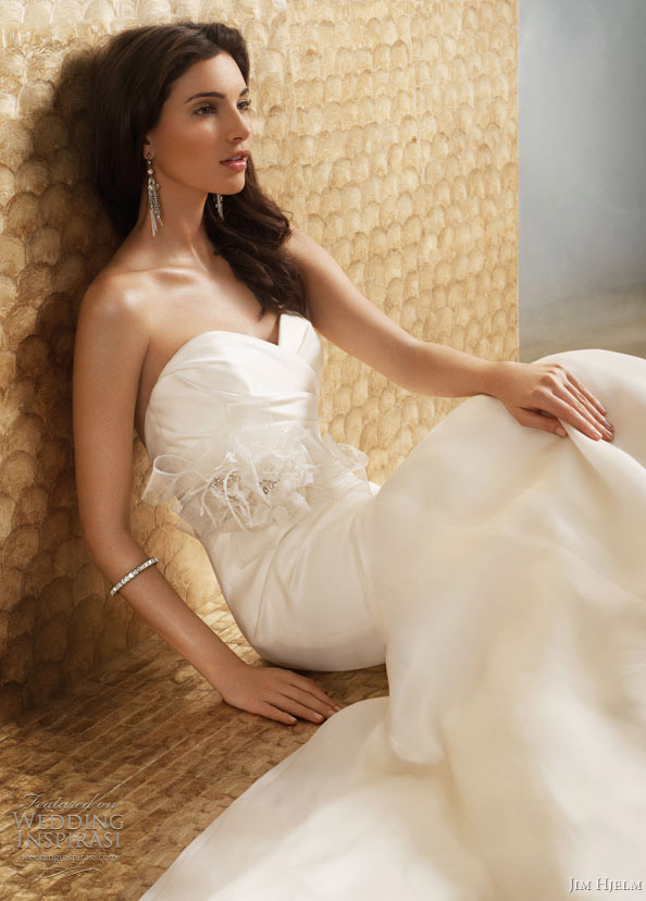 jim hjelm wedding dresses fall 2011 2012 - style jh8153