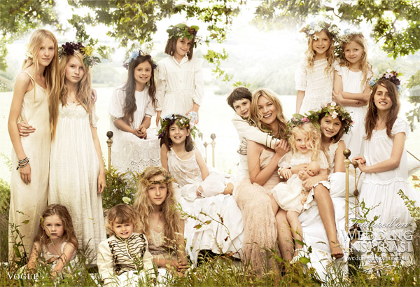kate moss wedding dress photos