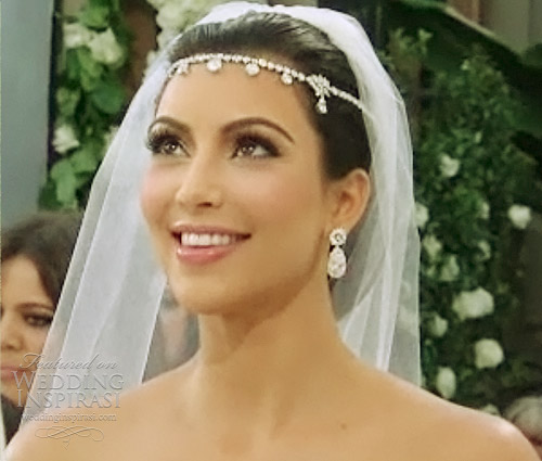 Kim Kardashian's Wedding Dress By Vera Wang