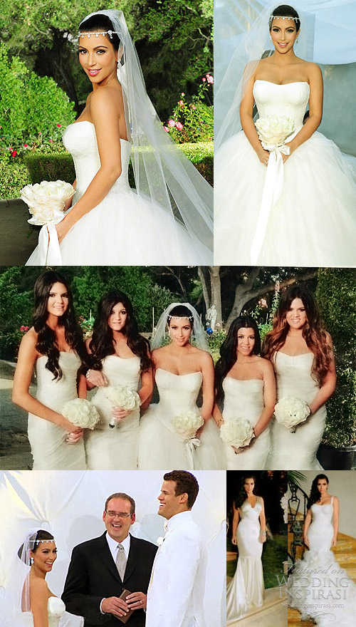 kim kardashian wedding dress vera wang
