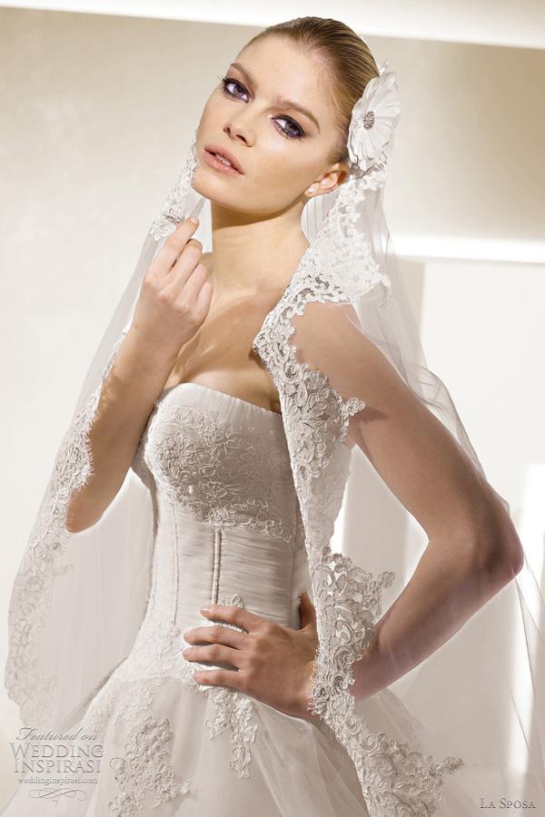 la sposa 2012 collection - Salamanca wedding dress