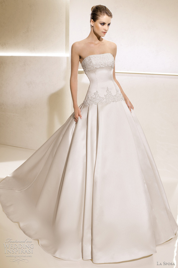 la sposa 2012 salome wedding dress