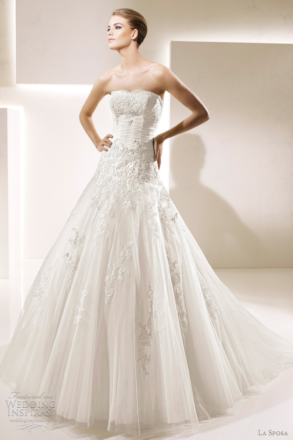 la sposa bridal 2012 selecta wedding dress